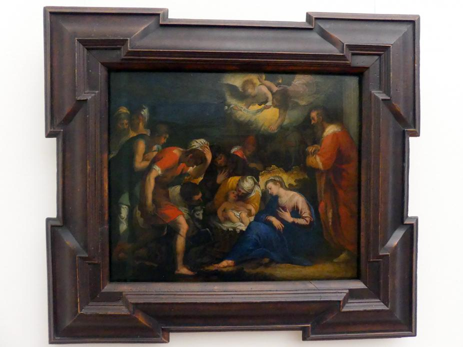 Johannes Rottenhammer der Ältere: Die Anbetung der Hirten, Um 1595 - 1596
