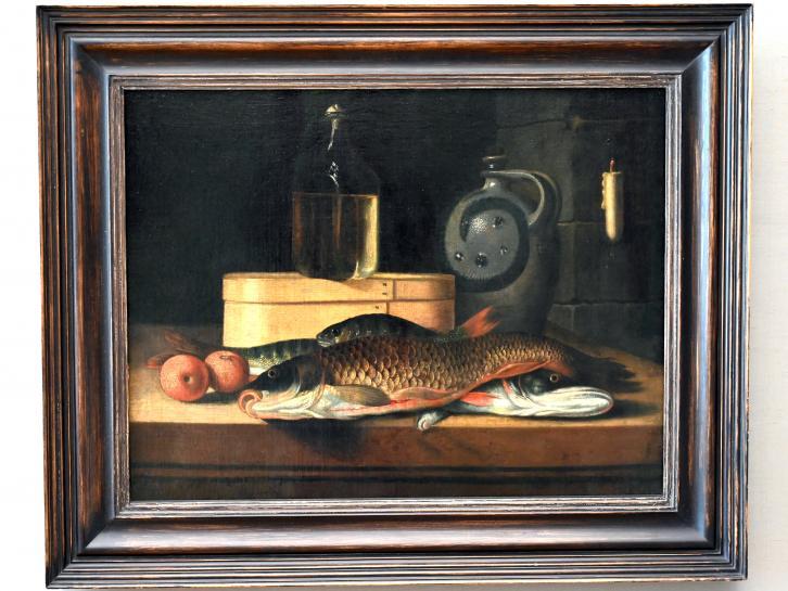 Sebastian Stoskopff: Stillleben mit Fischen, um 1640 - 1645