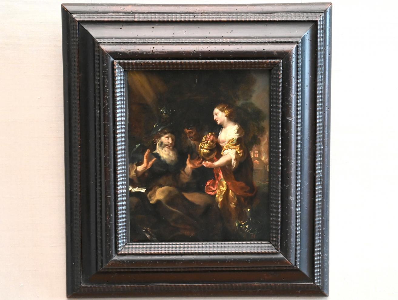 Johann Liss: Versuchung des hl. Antonius, Um 1660