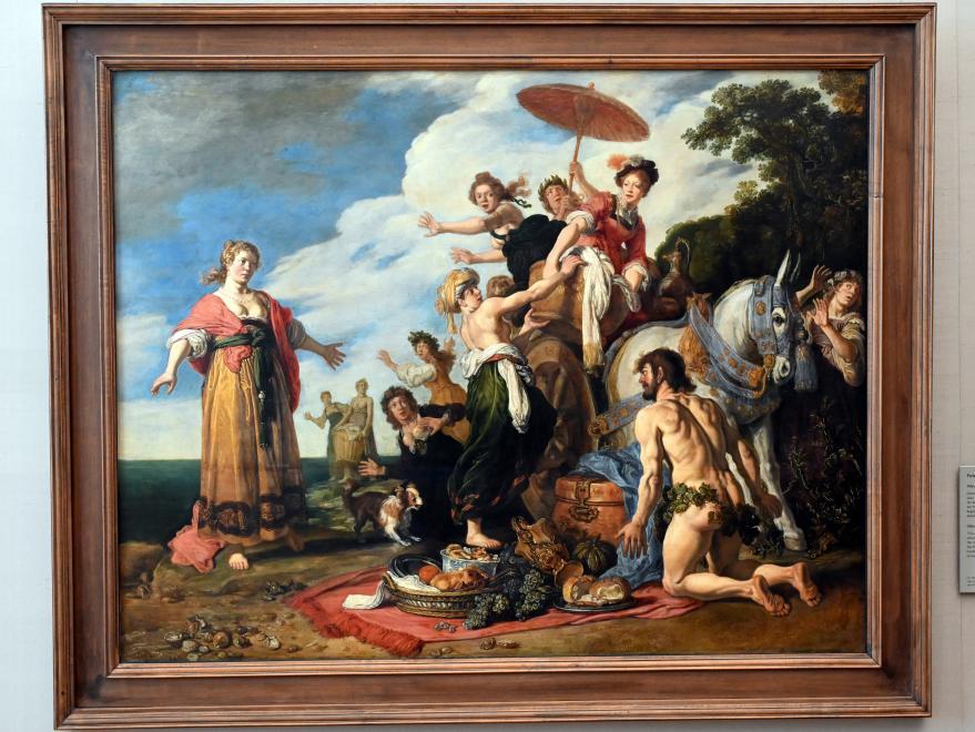 Pieter Lastman: Odysseus vor Nausikaa, 1619