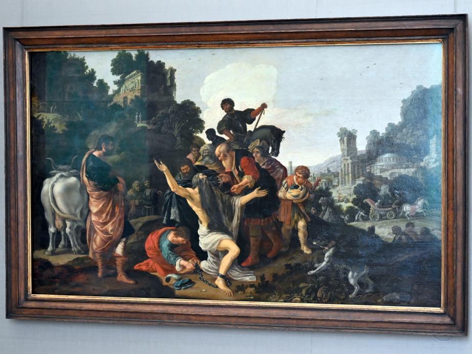 Jacob Pynas: Nebukadnezar erhält die Königswürde zurück, 1616