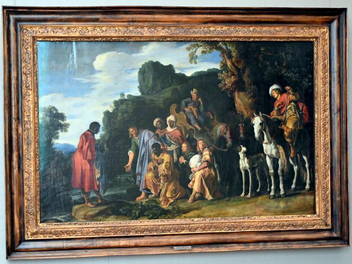 Pieter Lastman: Die Taufe des Mohrenkämmerers, 1620
