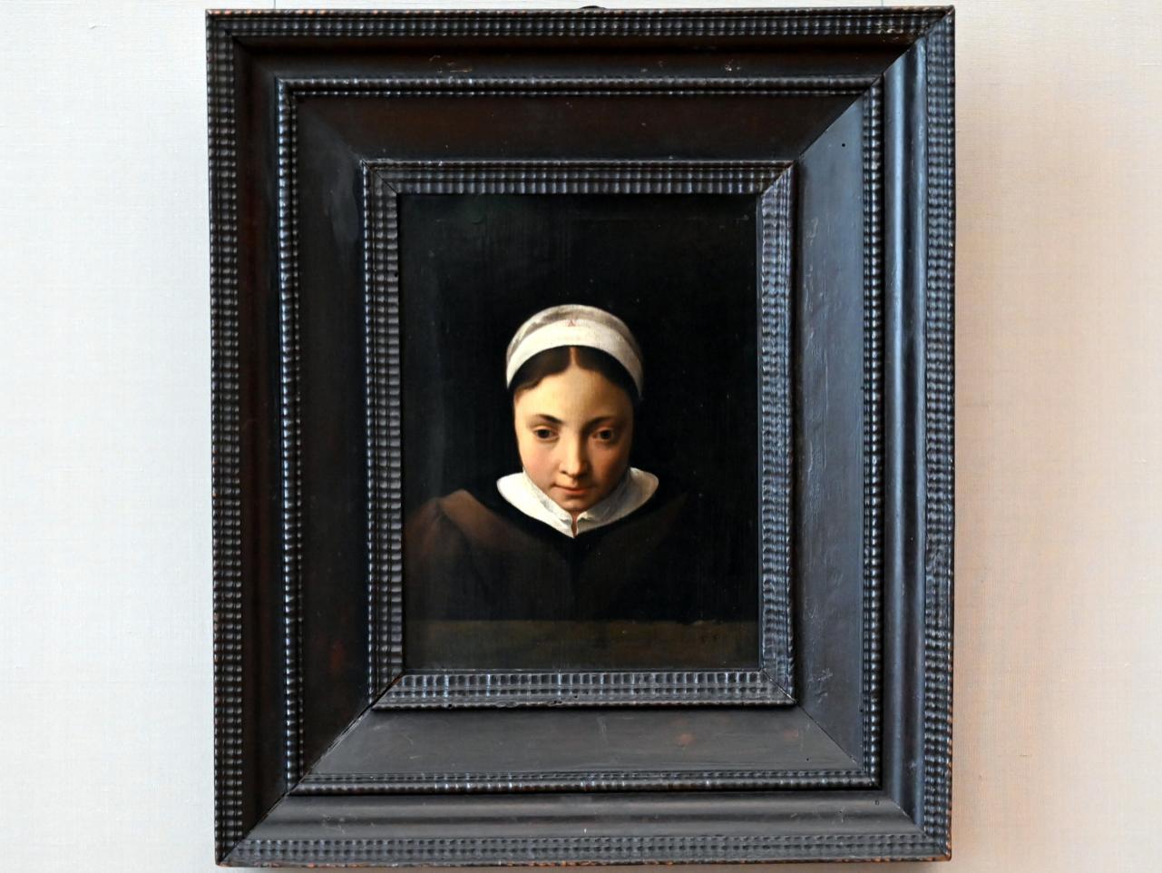 Cornelis van Poelenburgh: Brustbild eines jungen Mädchens, Undatiert