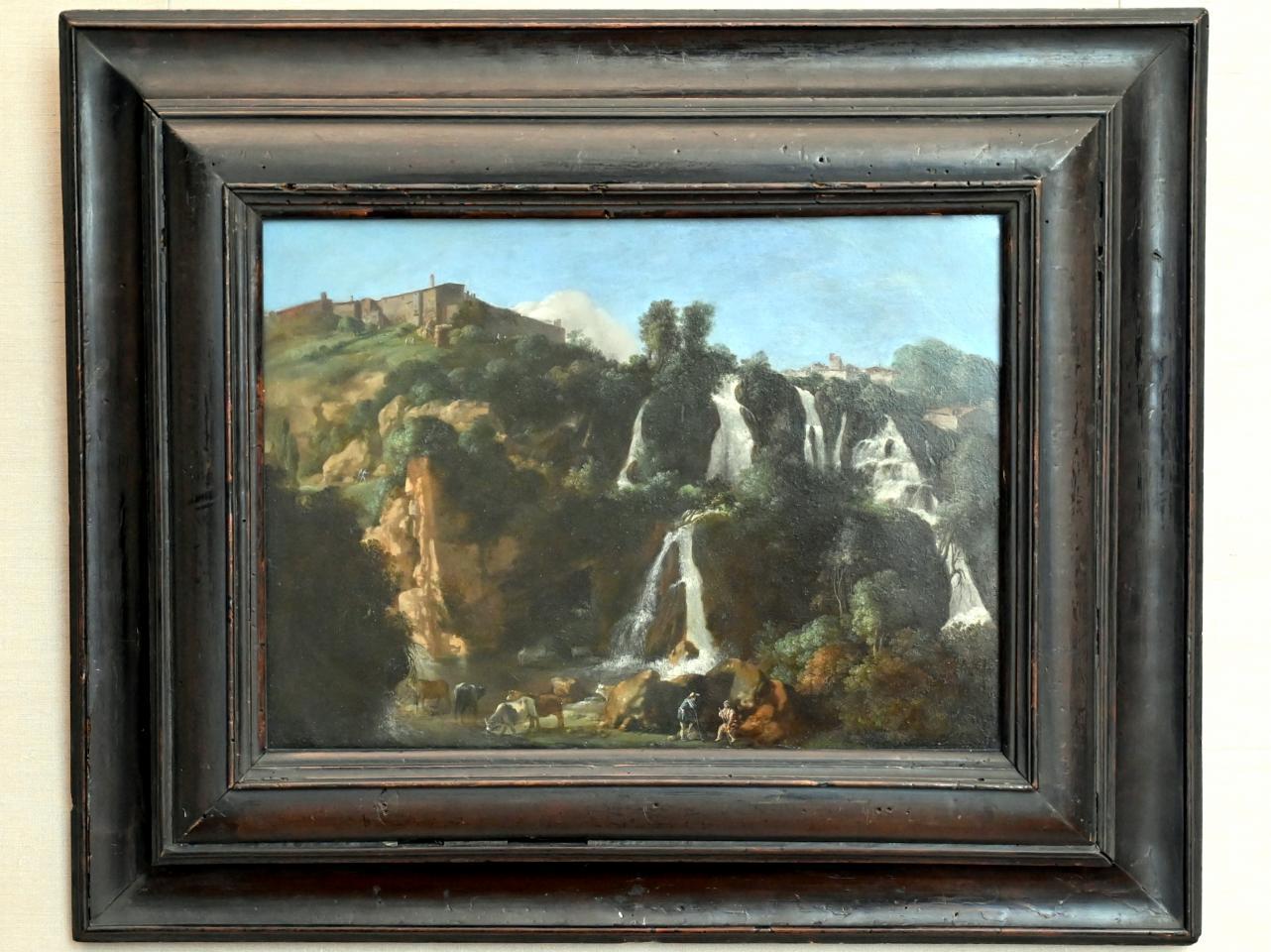 Cornelis van Poelenburgh: Die Wasserfälle von Tivoli, Um 1622