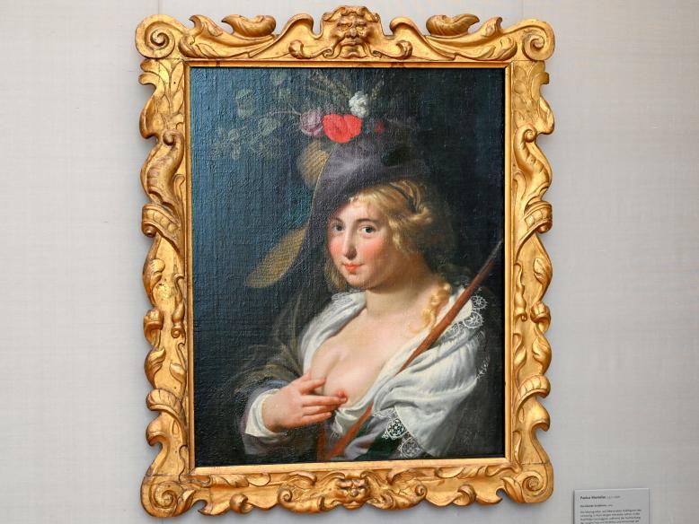 Paulus Moreelse: Die blonde Schäferin, 1624