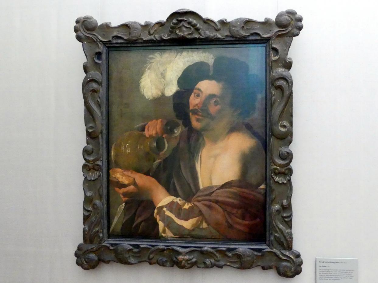 Hendrick ter Brugghen: Der Zecher, 1627