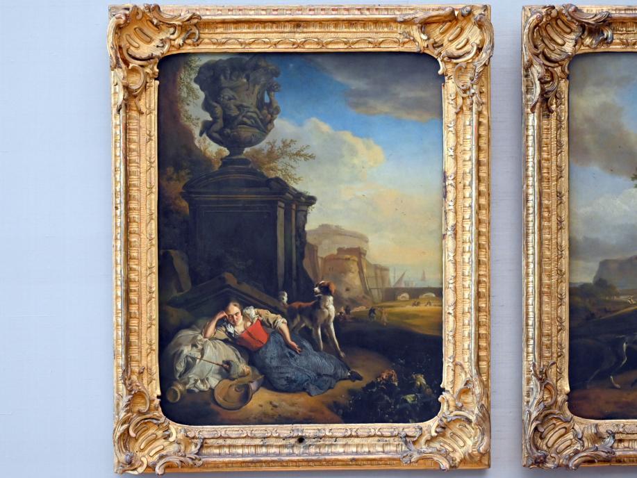 Jan Weenix: Schlafendes Mädchen, 1665