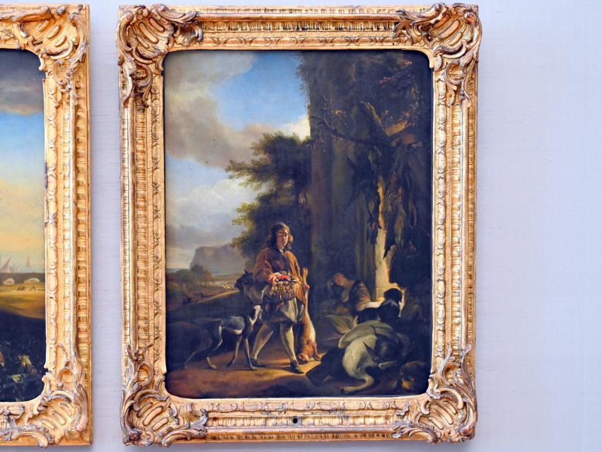 Jan Weenix: Jägerbursche mit Beute, 1665