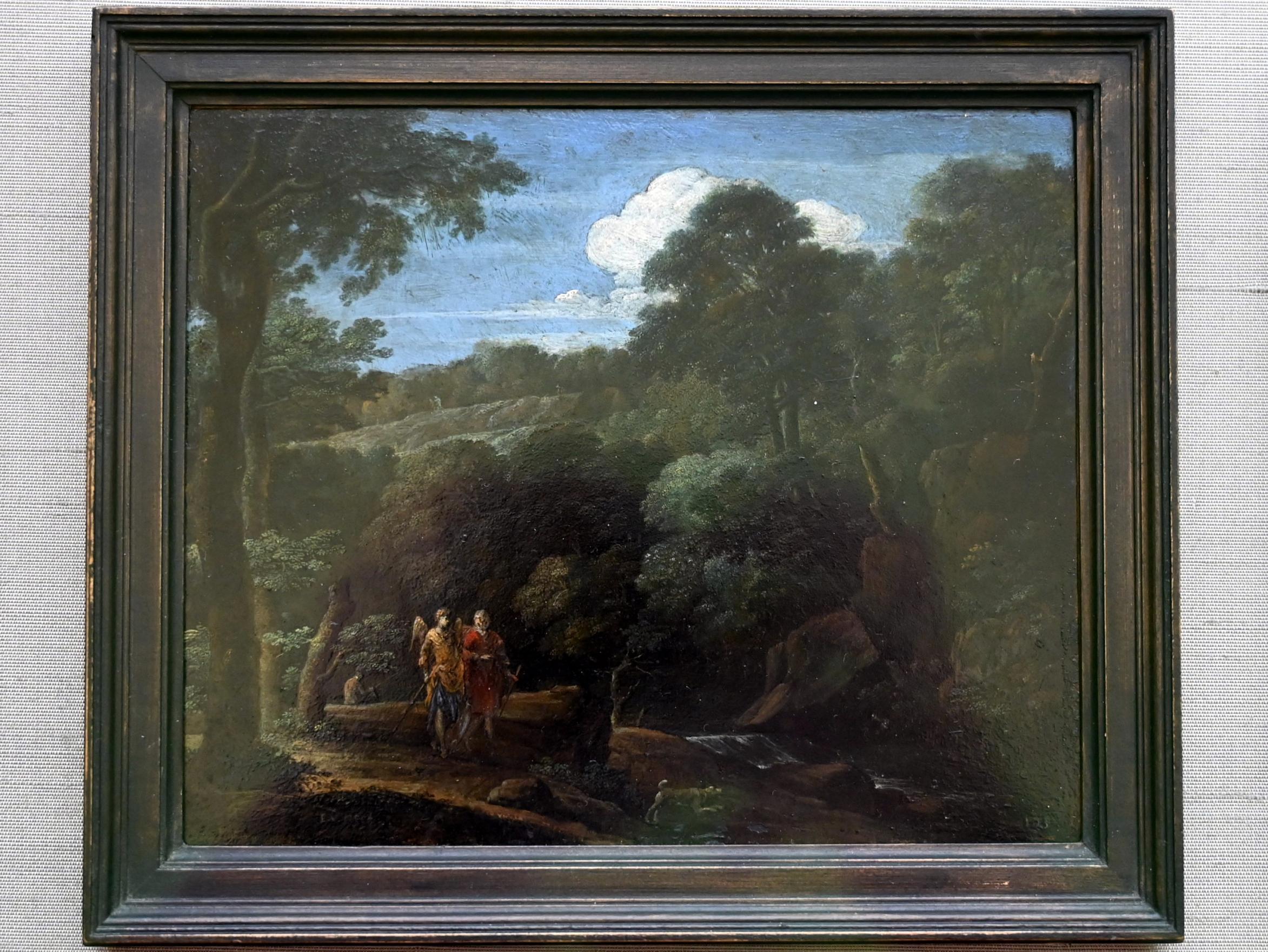 Eglon Hendrick van der Neer: Landschaft mit Tobias und dem Engel, 1698 - 1703