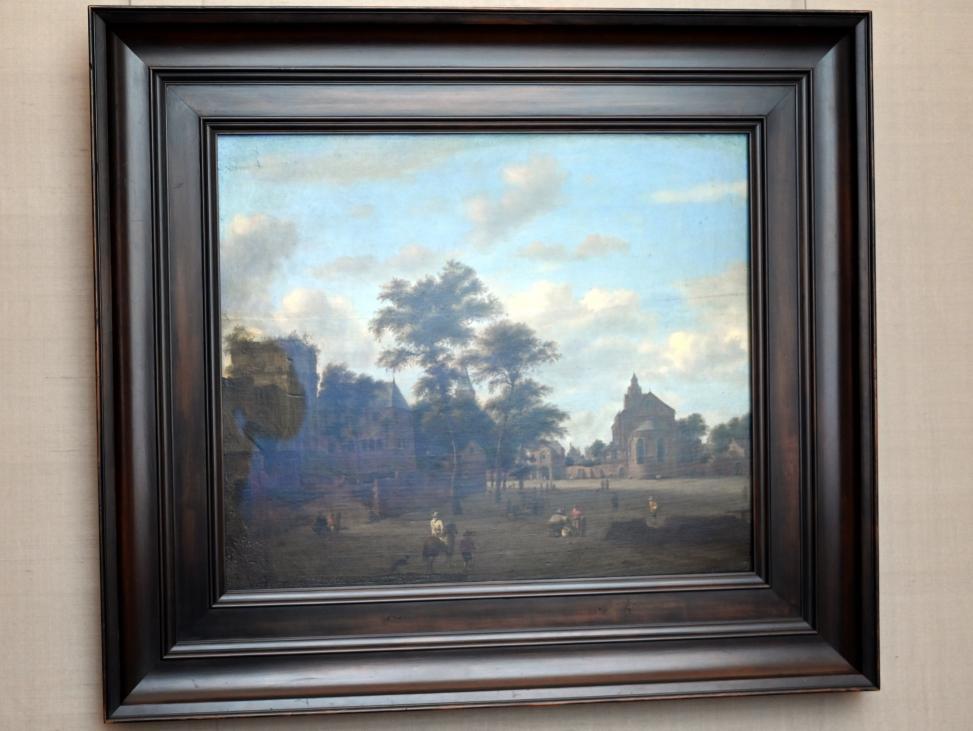 Jan van der Heyden: Platz mit Kölner Motiven, Um 1665