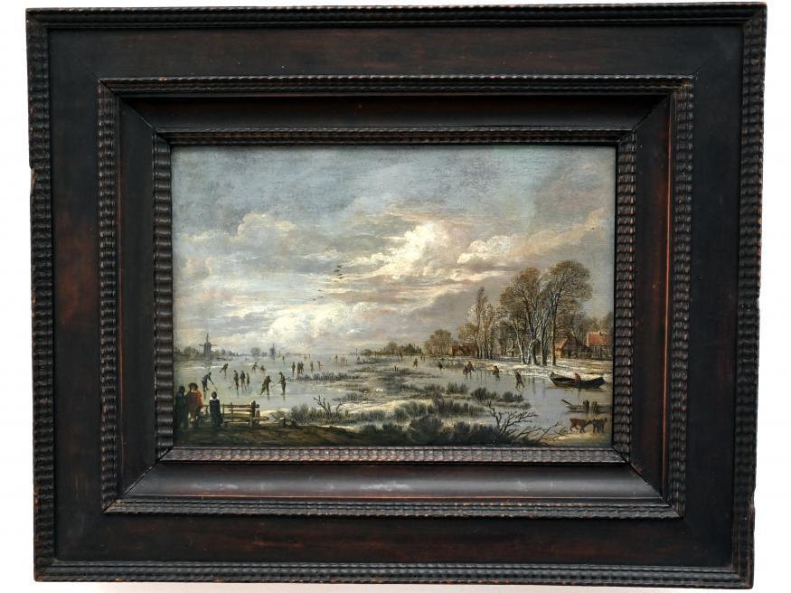 Aert van der Neer: Winterlandschaft, Um 1655 - 1660