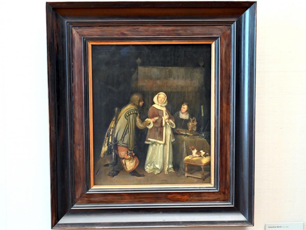 Gerard ter Borch: Der verweigerte Brief, Um 1655 - 1658