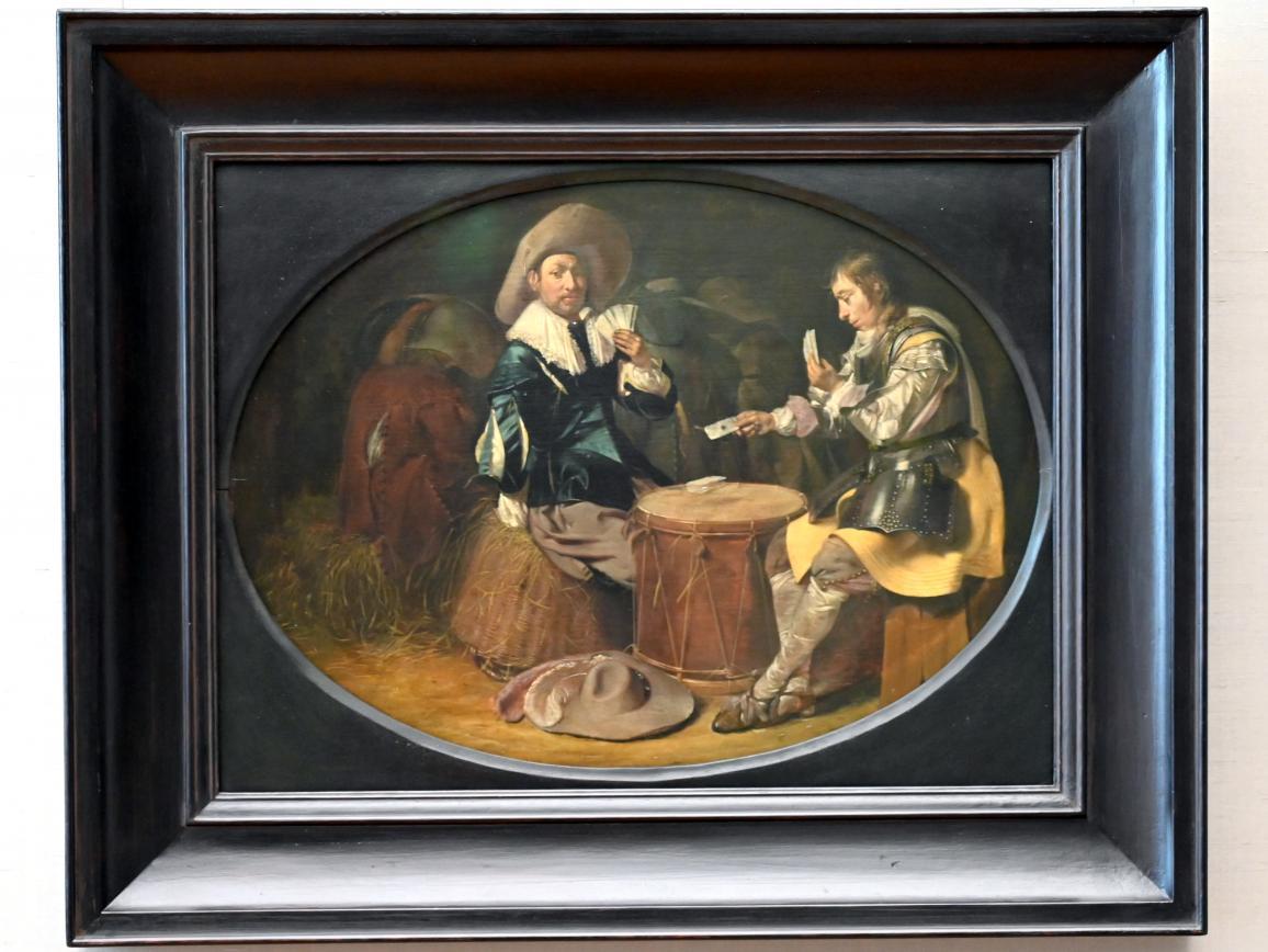 Willem Cornelisz Duyster: Kartenspielende Offiziere, Um 1630 - 1635