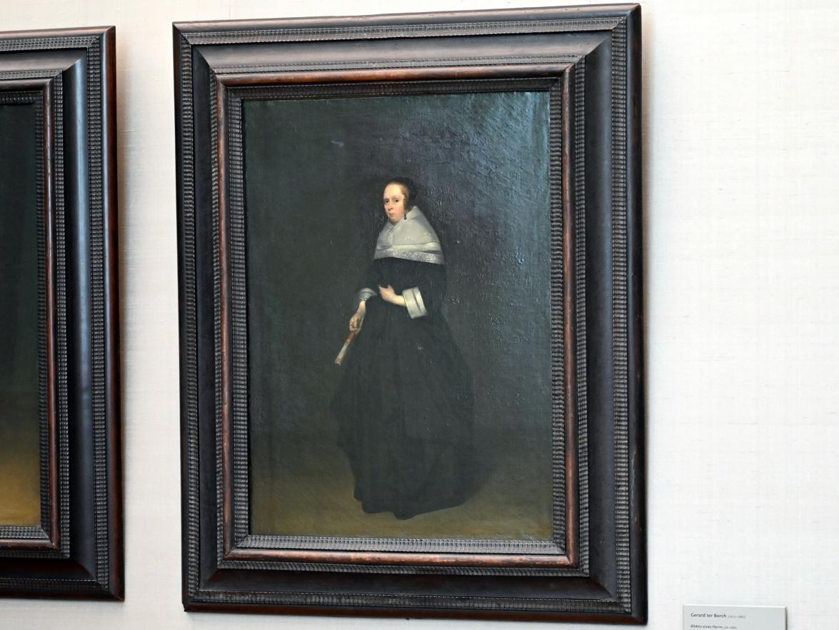 Gerard ter Borch: Bildnis einer Dame, Um 1660