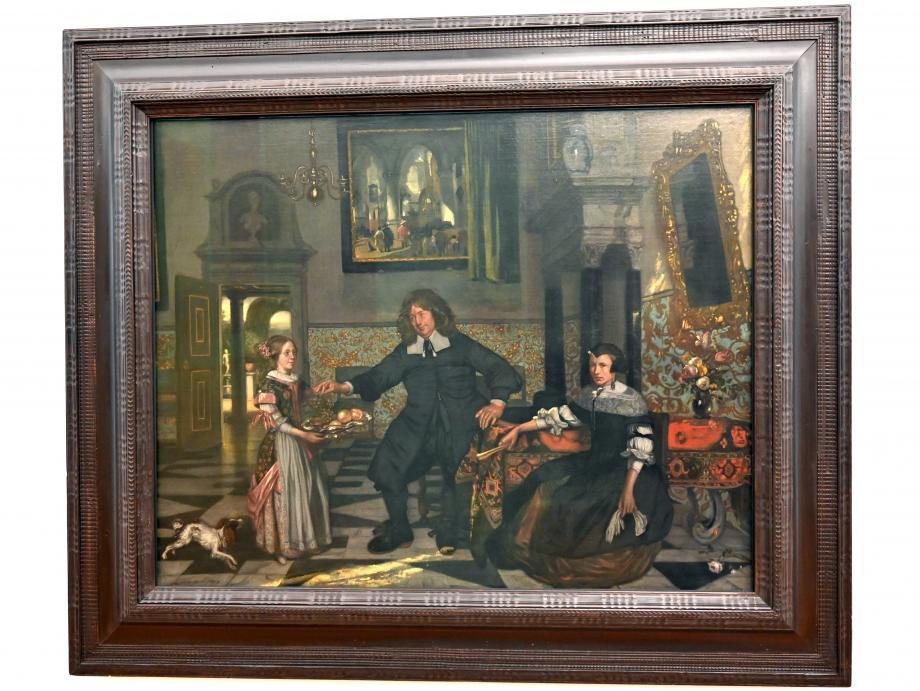 Emanuel de Witte: Familienbildnis, 1678