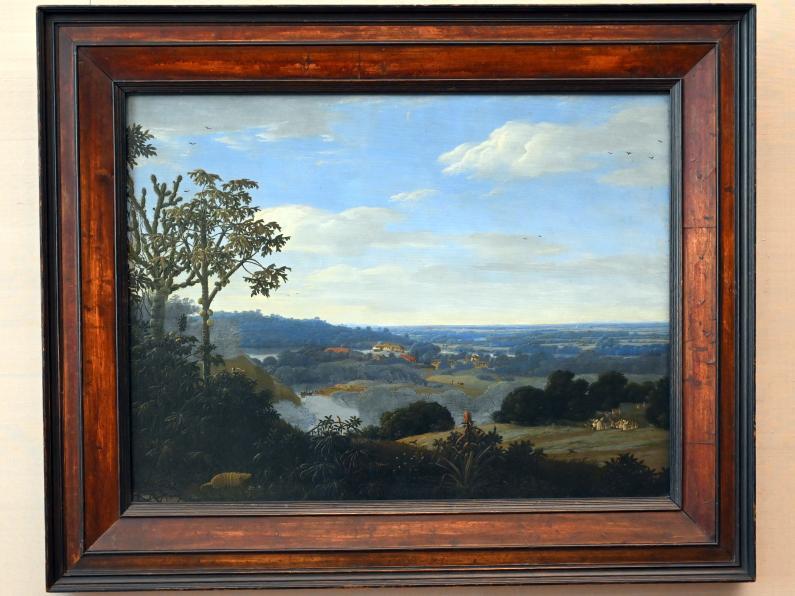 Frans Post: Brasilianische Landschaft mit Gürteltier, 1649