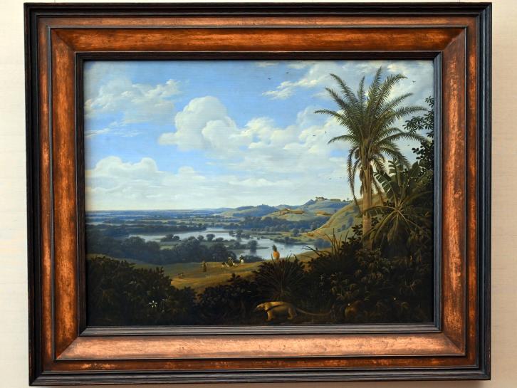Frans Post: Brasilianische Landschaft mit Ameisenbär, 1649