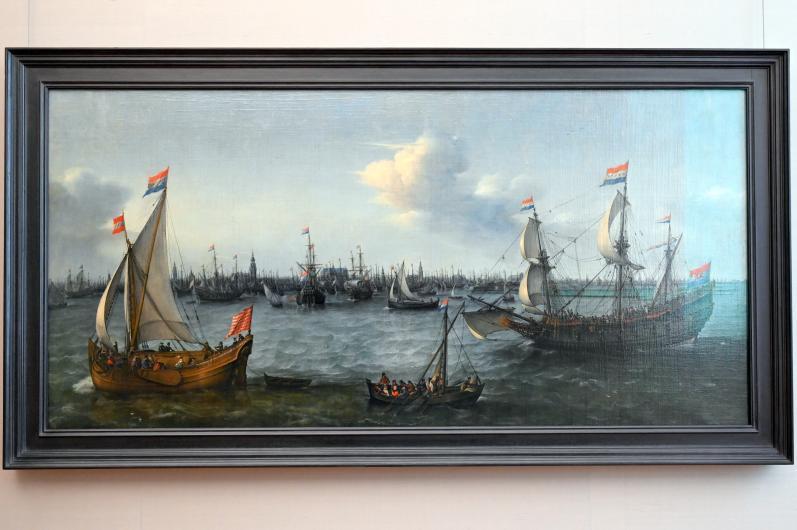 Hendrick Cornelisz. Vroom: Der Seehafen von Amsterdam, 1630