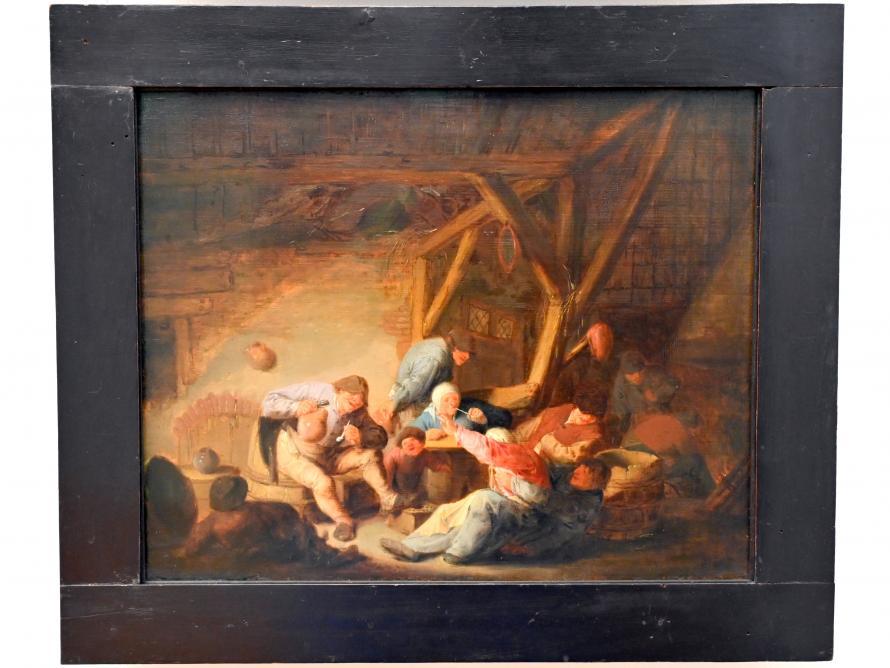 Adriaen van Ostade: Bauernstube, um 1635