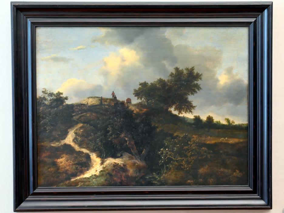 Jacob van Ruisdael: Sandhügel mit Bäumen bewachsen, 1647
