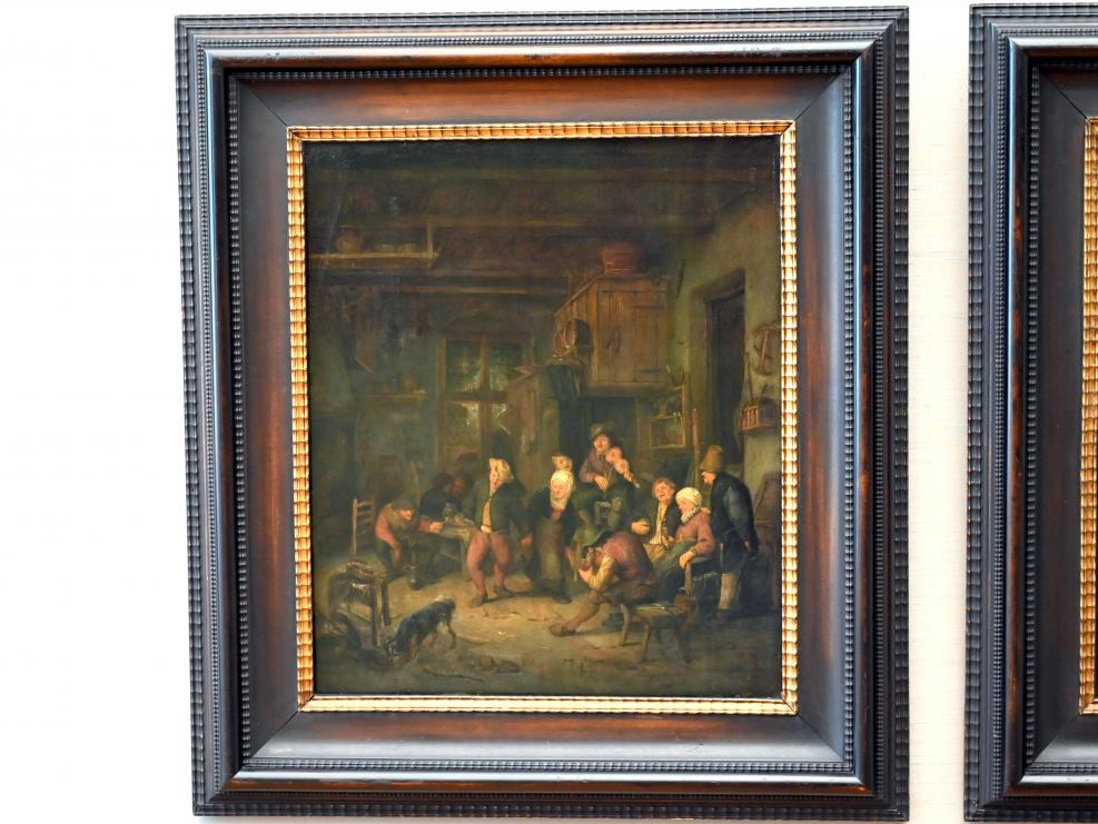 Adriaen van Ostade: Lustige Bauerngesellschaft, um 1641 - 1647