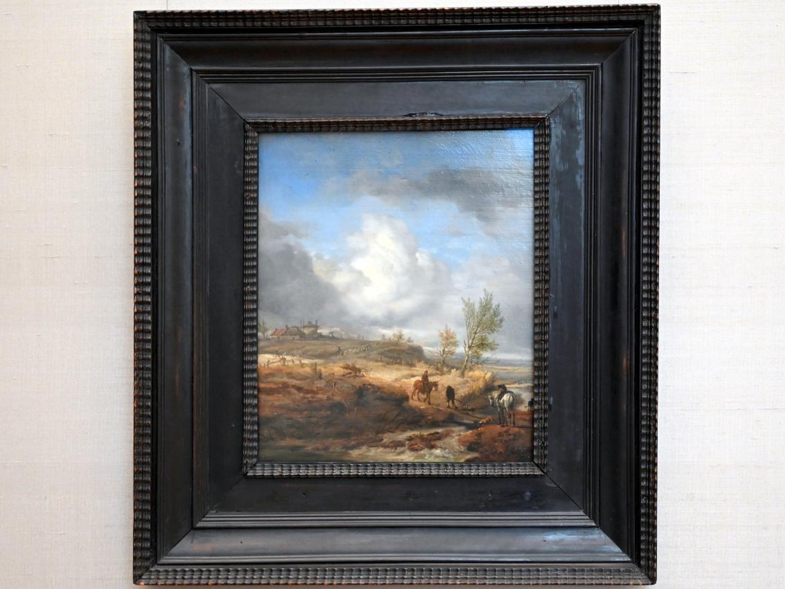 Philips Wouwerman: Bewölkte Dünenlandschaft, Um 1650