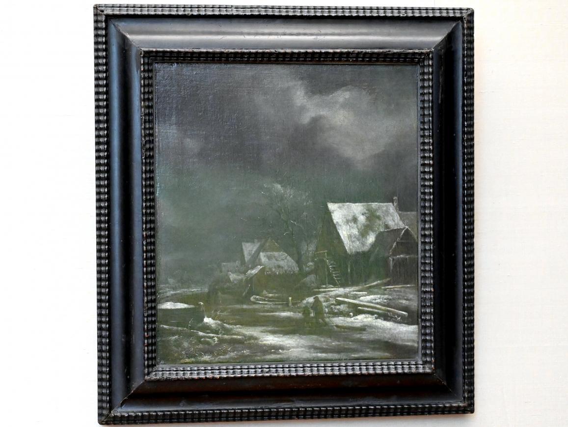 Jacob van Ruisdael: Winterliches Dorf, um 1665