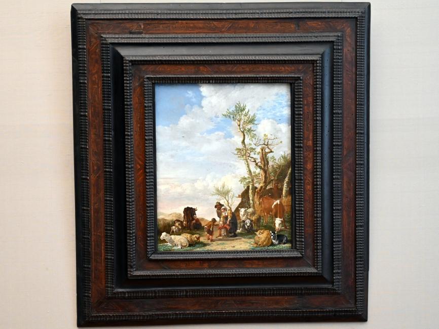 Paulus Potter: Bauernfamilie mit Vieh, 1646