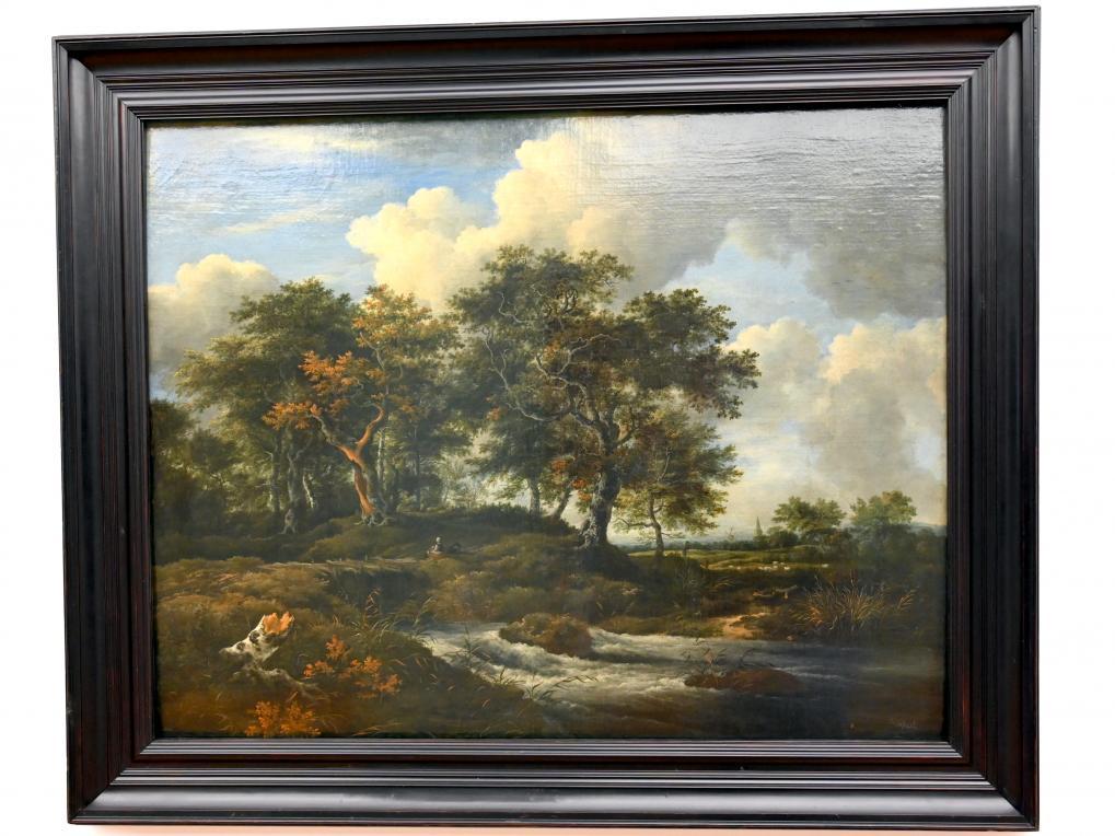 Jacob van Ruisdael: Eichen an einem Gießbach, um 1670