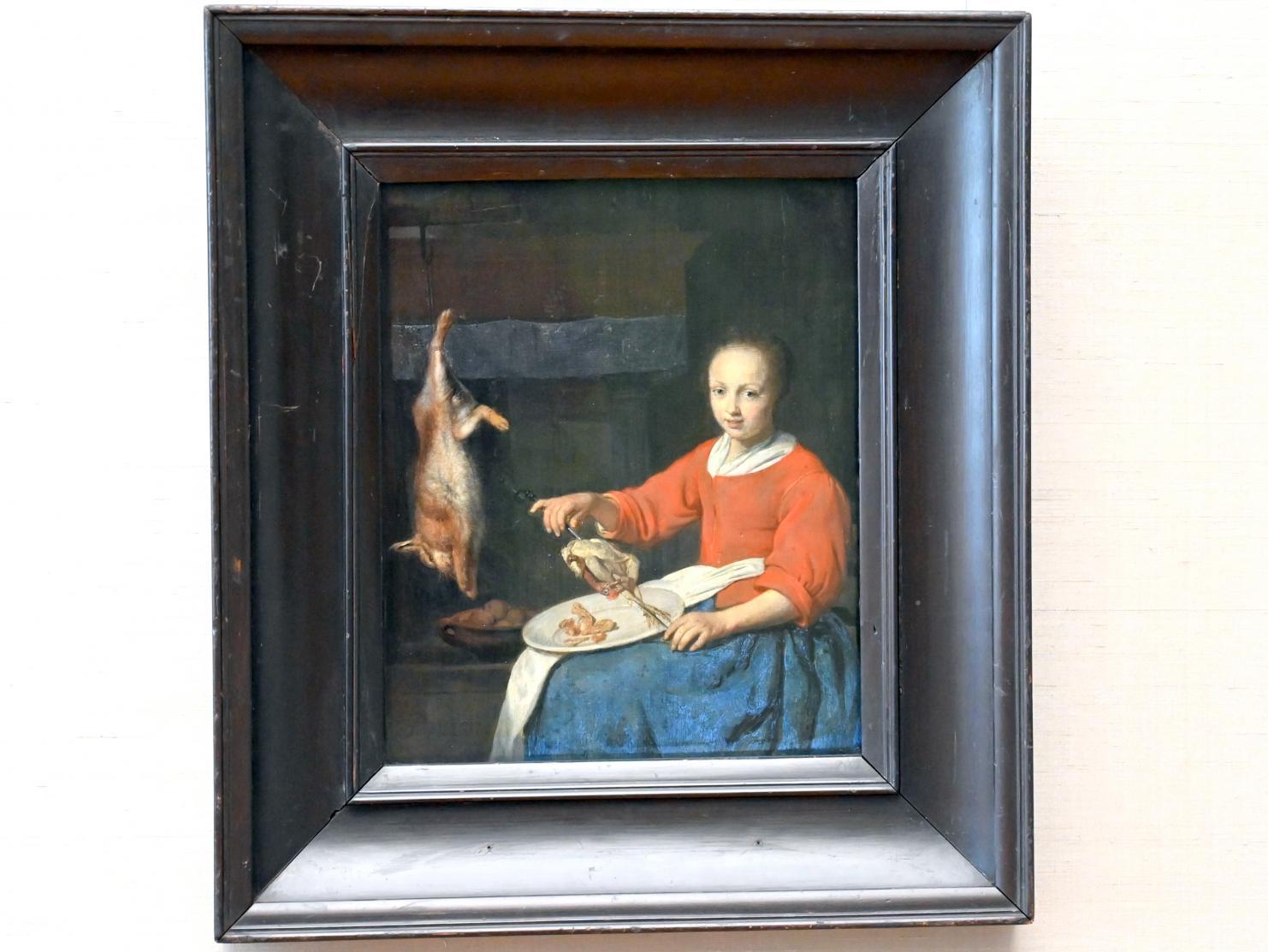 Gabriël Metsu: Die Köchin, Um 1665