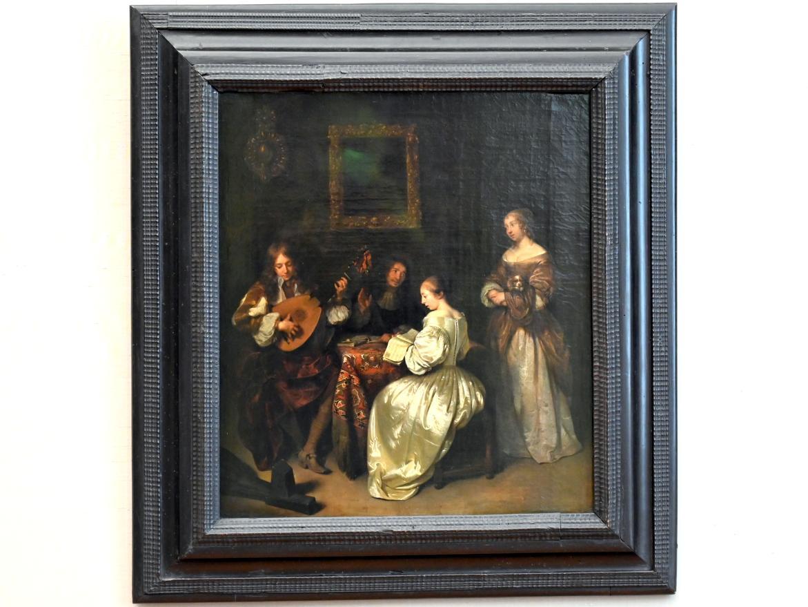 Caspar Netscher: Musikalische Unterhaltung, 1665