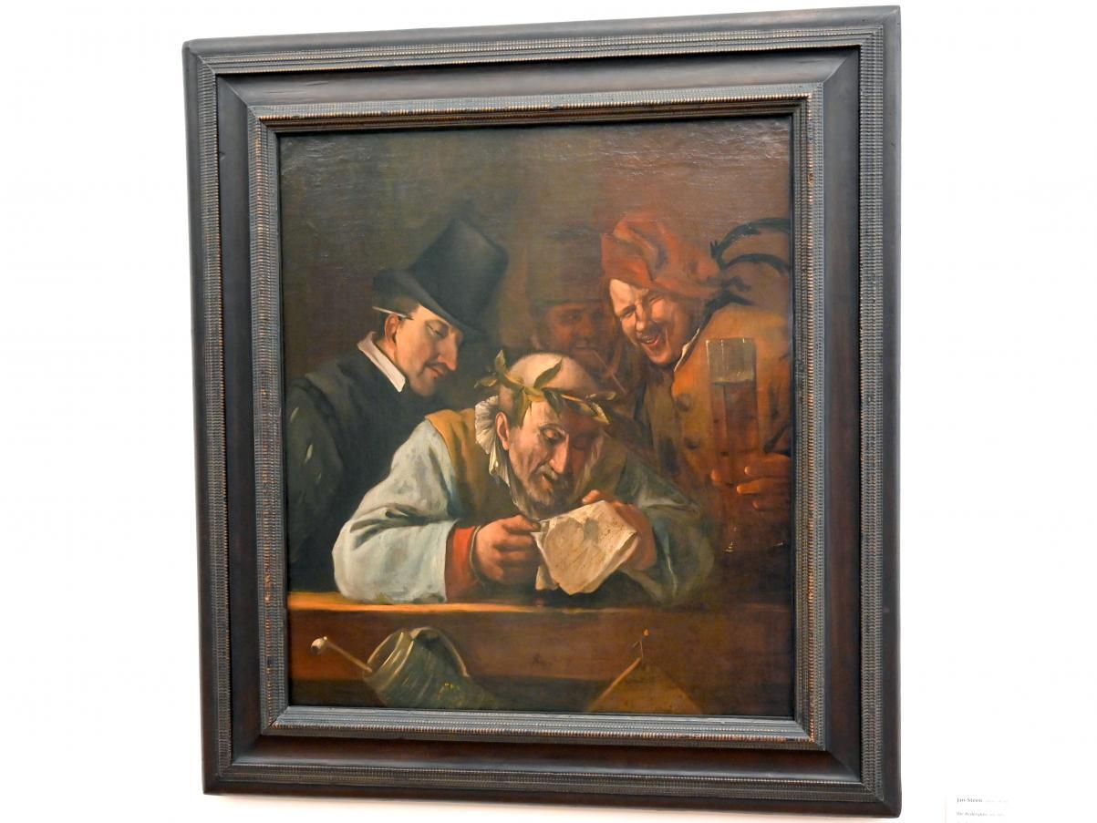 """Jan Havickszoon Steen: Die """"Rederijker"""", 1664 - 1666"""