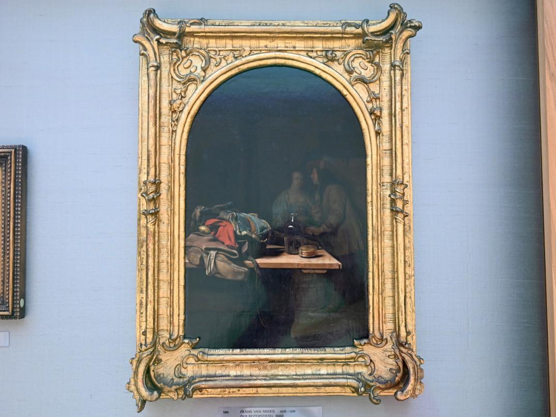 Frans van Mieris der Ältere: Der Reiterstiefel, 1666