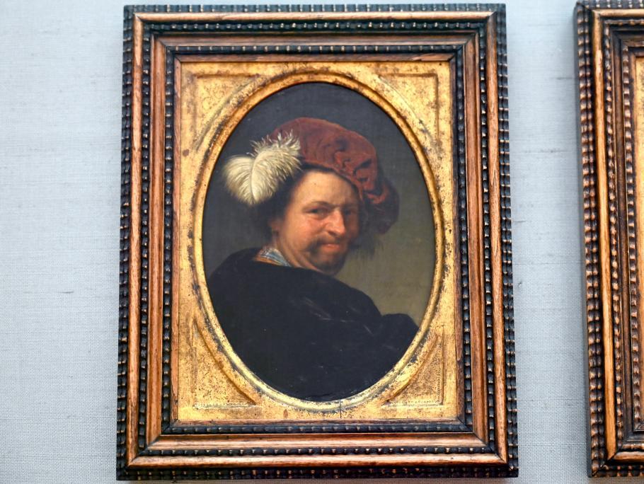 Frans van Mieris der Ältere: Selbstbildnis, 1662