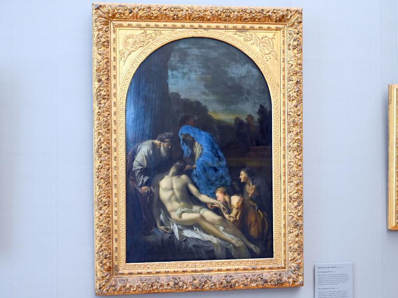 Adriaen van der Werff: Die Grablegung Christi, 1703