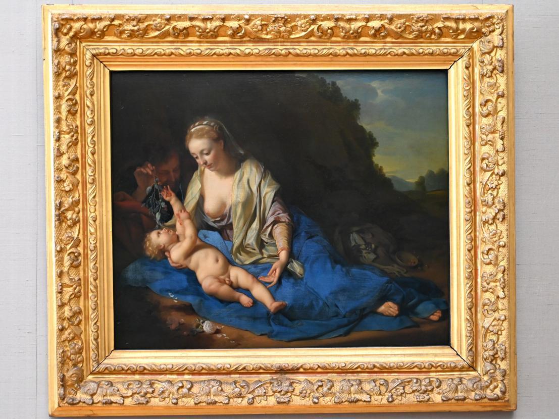 Adriaen van der Werff: Ruhe auf der Flucht, 1702