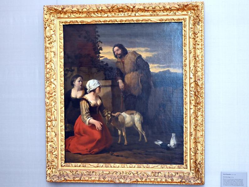 Karel Dujardin: Die kranke Ziege, 1660 - 1663