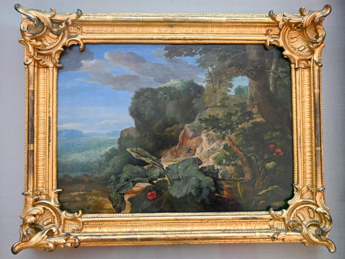 Eglon Hendrick van der Neer: Felsenlandschaft, 1702