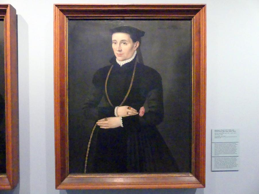 Nicolas Neufchâtel: Ursula Praun, geb. Ayrer (1525-1592), 1568