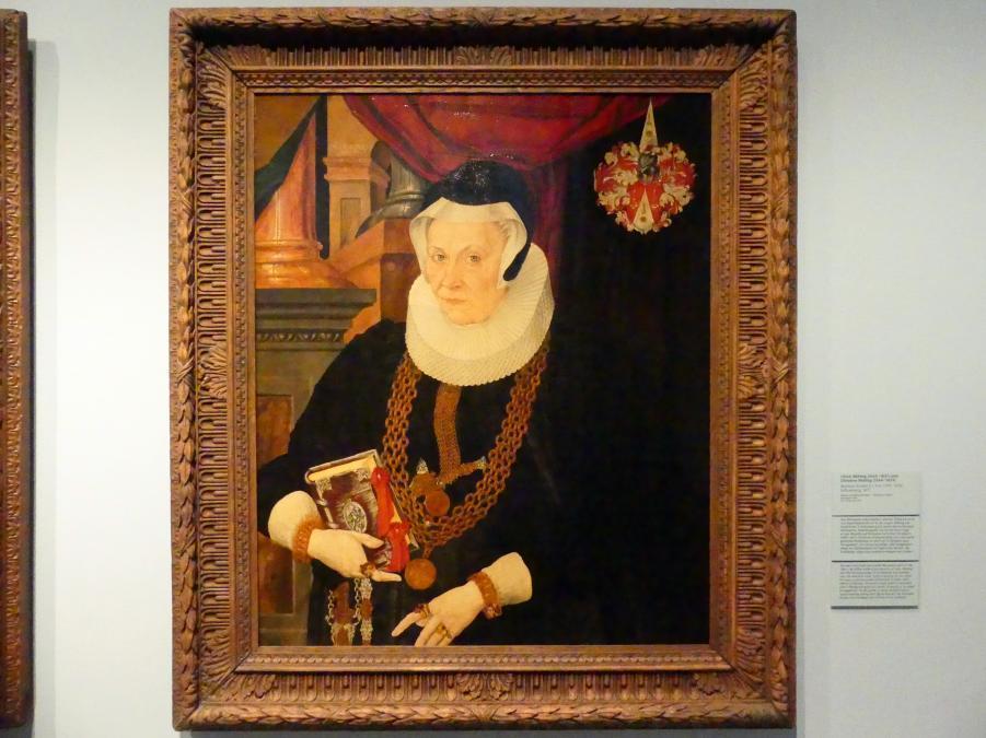 Matthias Krodel der Jüngere: Christina Röhling (1564-1623), 1615
