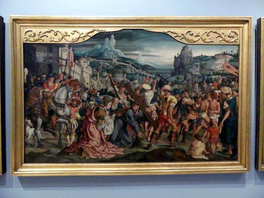 Bartholomäus Bruyn der Ältere: Passionsretabel der Kölner Patrizier- und Bürgermeisterfamilie Siegen, um 1540, Bild 2/5