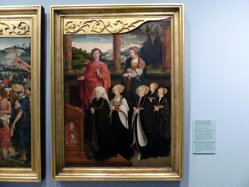 Bartholomäus Bruyn der Ältere: Passionsretabel der Kölner Patrizier- und Bürgermeisterfamilie Siegen, um 1540, Bild 3/5