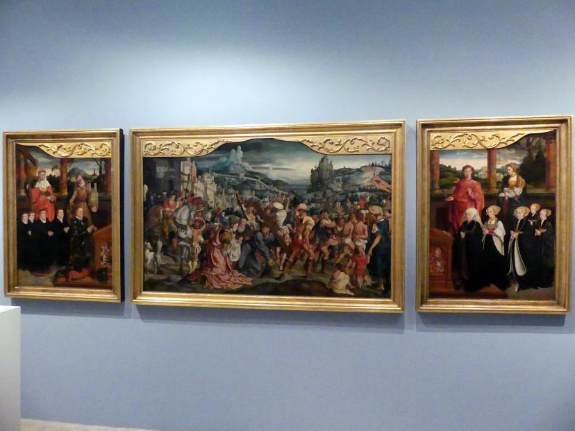 Bartholomäus Bruyn der Ältere: Passionsretabel der Kölner Patrizier- und Bürgermeisterfamilie Siegen, Um 1540