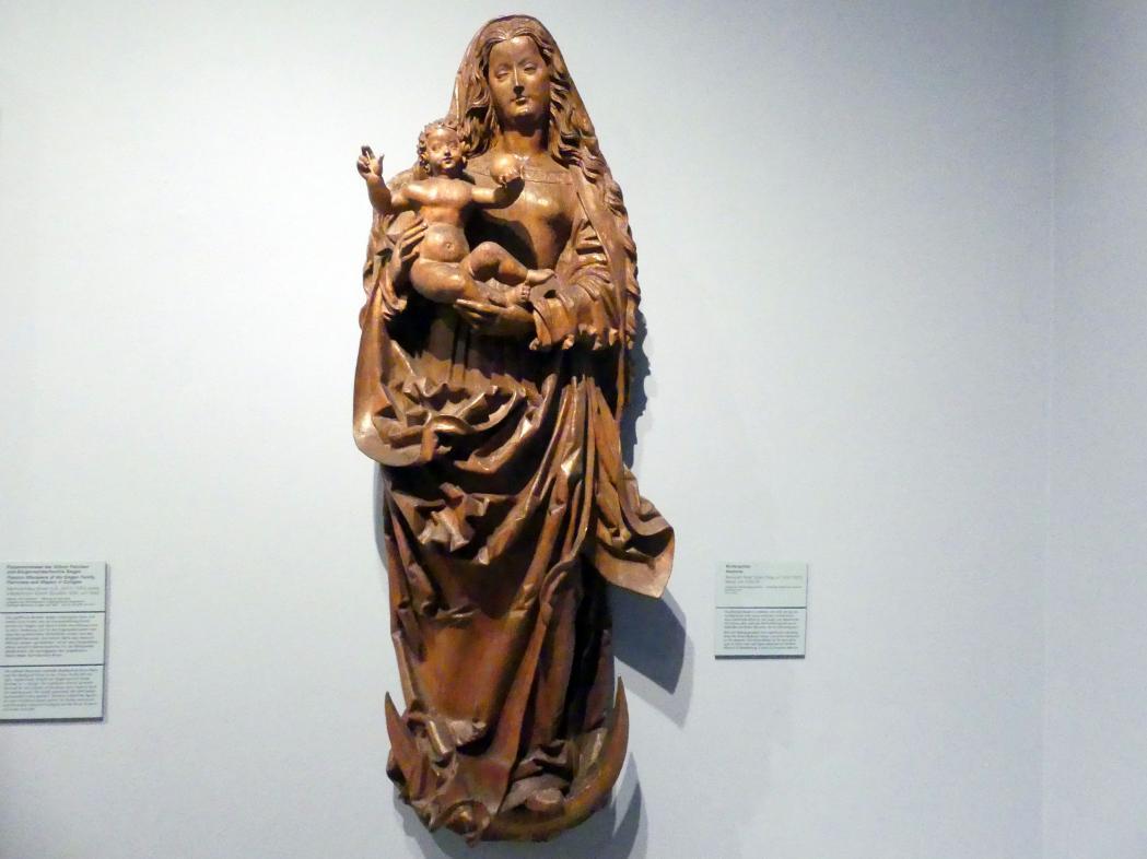 Peter Schro (Werkstatt): Muttergottes, Um 1520 - 1525