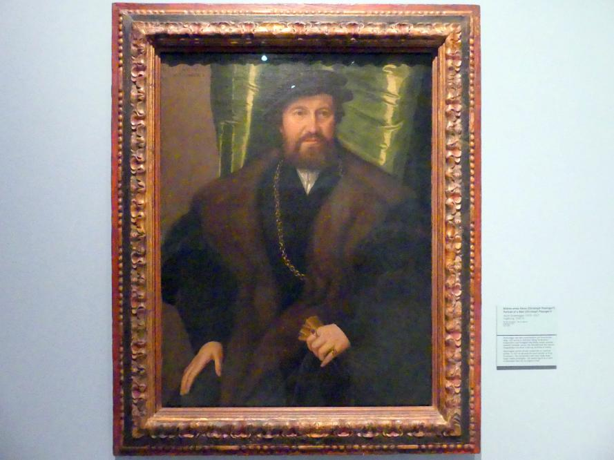 Jakob Seisenegger: Bildnis eines Herrn (Christoph Pissinger?), um 1540