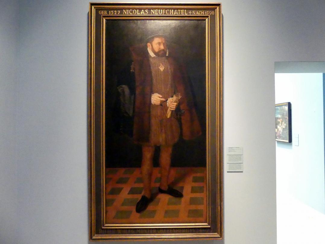 Nicolas Neufchâtel: Wolfgang Münzer von Babenberg (1524-1577), Um 1567