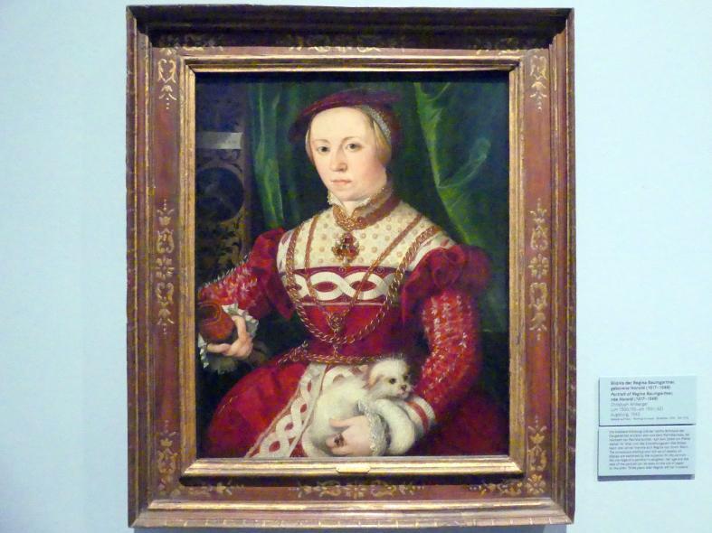 Christoph Amberger: Bildnis der Regina Baumgartner, geborene Honold (1517-1548), 1540