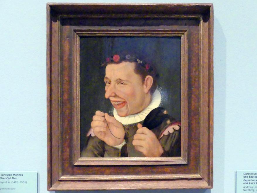 Andreas Herneisen: Darstellung eines Narren mit Nadel und Eselsohren, um 1590