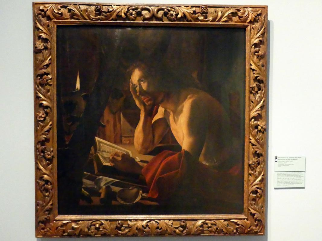 Johann Herz: Selbstbildnis als Johannes der Täufer, 1627