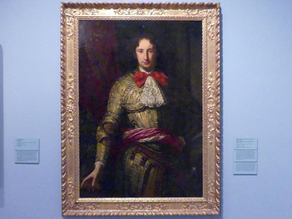Salomon Adler: Bildnis des Conte Carlo IV. Borromeo (1657-1734), Um 1685